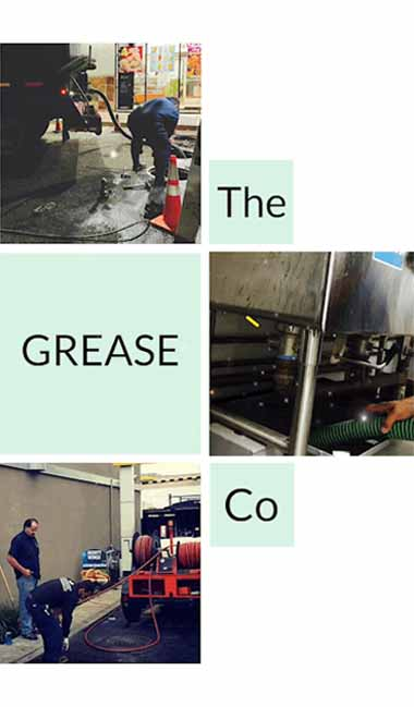 The city and county require for all food servicing establishments to acquire a company to pump and clean grease traps and grease interceptors before it gets full. The grease company provides grease trap cleaning, hydro jetting and grease trap or grease interceptor installation throughout San Diego County.