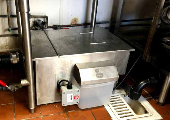 Small grease traps inside the kitchen require more attention because of it's small size. Grease traps underneath the sink or in the kitchen are less costly to clean because of its size.